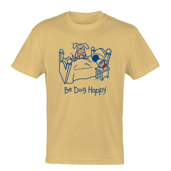 Be Dog Happy - Canine Alarm Clock t-shirt