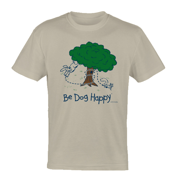 Be Dog Happy - The Chase t-shirt