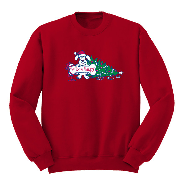 Be Dog Happy - Joy to the Dog sweatshirt