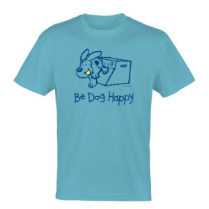Be Dog Happy - Flyball Fun! t-shirt