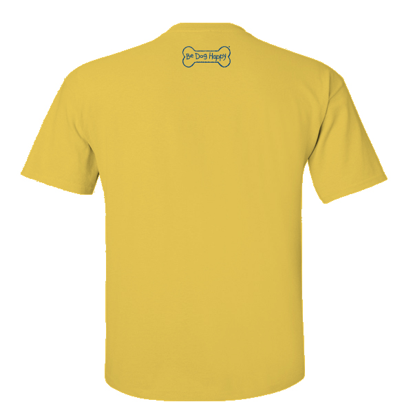 Be Dog Happy - Joyride yellow youth t-shirt