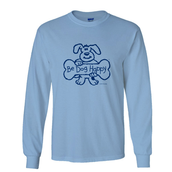 Be Dog Happy - Prized Possession long-sleeve t-shirt