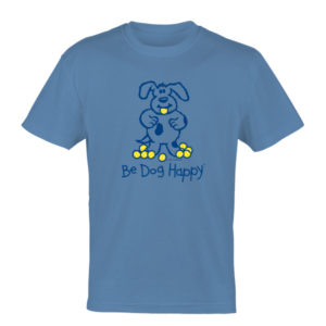 Be Dog Happy - Tennis Ball Collector t-shirt