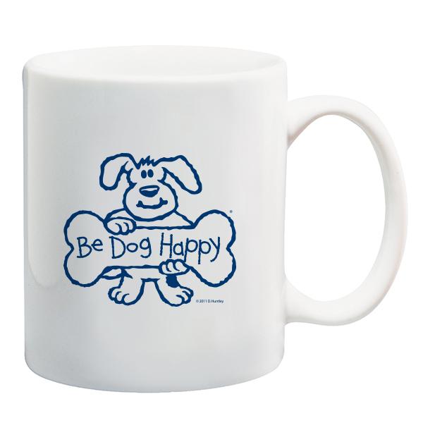 Be Dog Happy - Coffee mug