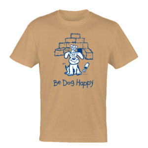 Barn Hunt tshirt - front view - from Be Dog Happy