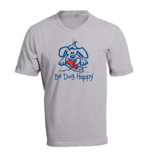 Finders Keepers tshirt - front view - from Be Dog Happy
