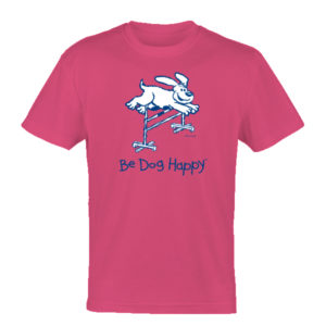 Weekend Bar Hopper tshirt - front view - from Be Dog Happy