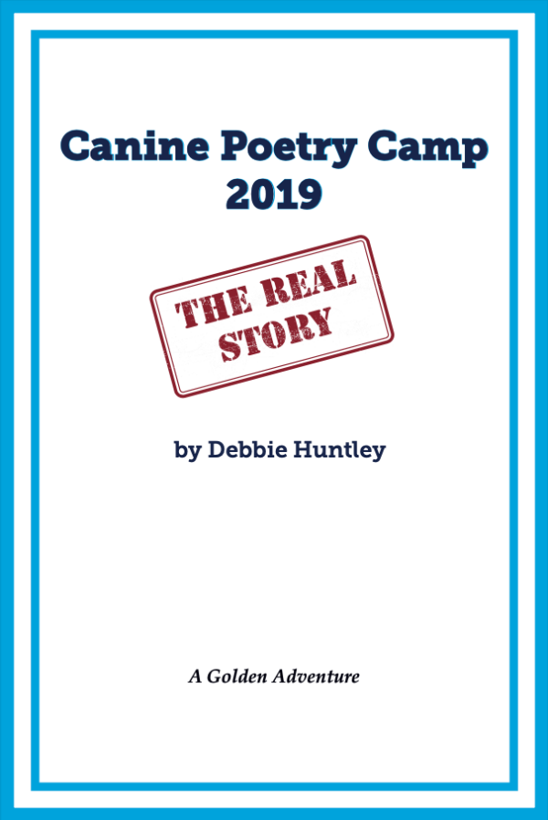 interior cover page of Canine Poetry Camp 2019: The Real Story